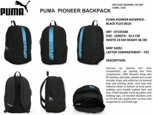 73de624c55c3 Puma And Grey Pioneer Backpack