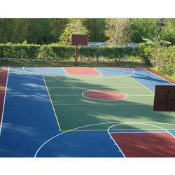 Synthetic Acrylic Outdoor Sports Flooring