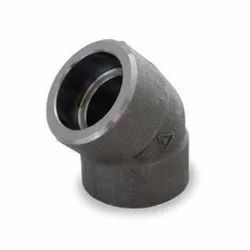Carbon Steel 45 Deg Socket Weld Elbow