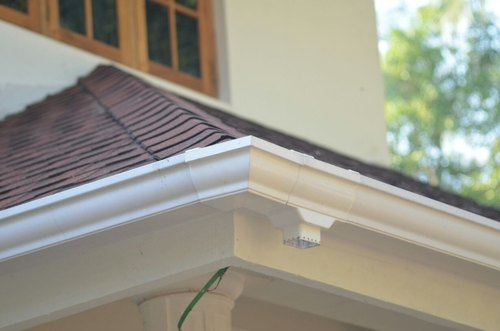 Castillo PVC Roof Gutter System, For Residential And Commercial ...