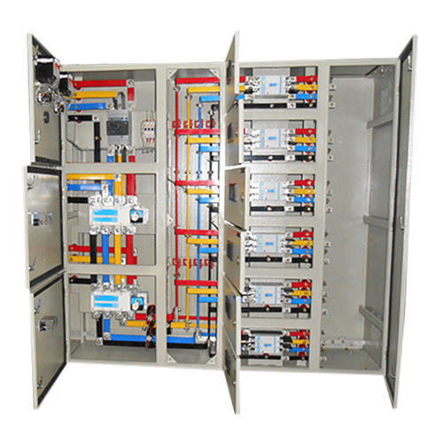 Mild Steel Sheet Three Phase LT Distribution Panel, For Industrial