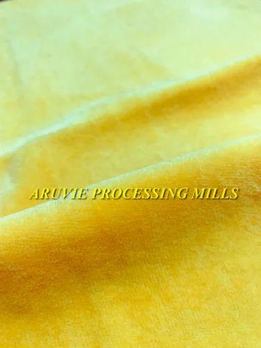 Organic Cotton Velour Fabric