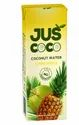 Yellow Fresh Pineapple Juice With Coconut Water Instant Mocktail, Packaging Size: 200 Ml