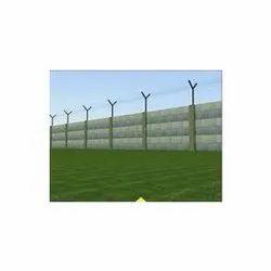 Concrete Boundary Compound Wall