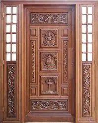 Teak Wood Carving Doors