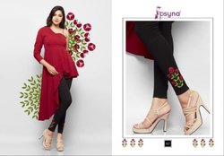 Psyna Embroidered Leggings