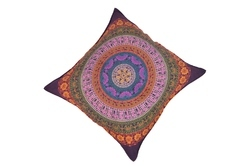 SIx Colour Of Mandala Cushion Cover