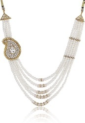 Wedding Necklace Pearl Maala Traditional Style For Women And Girls
