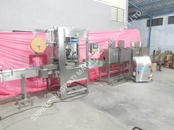 Shrink Sleeve Machine for Oval