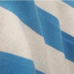 Organic Cotton Stripped Fabric