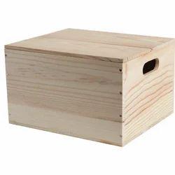 Wooden Hamper Box