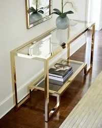 PVD Coated Console Table