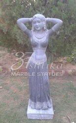 Rajasthni Marble Lady Statue
