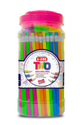 Multicolor Polymer Lezing Trio Rubber Tip Pencil, For Writing