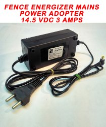 PET PVC Smps Mains Power Adopter For Electric Fence Energizer