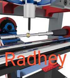 Automatic Gold CNC Machine For Pipe Faceting Machine, Rotary Table, 24000 Rpm Max