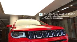 Car Showroom Led Stretch Ceiling