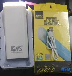 SMS top light power bank