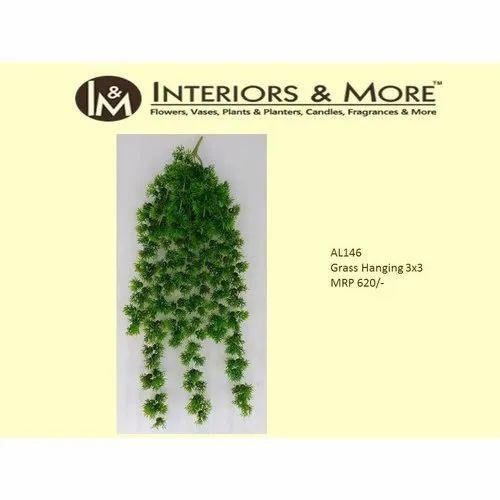 Interiors & More Polyester Artificial Hanging Grass Creeper, For Decoration Purpose