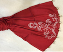 Red Scarf  Designs