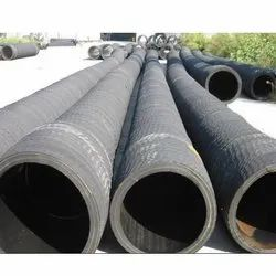 Rubber Black Round Fly Ash Hose Pipe for Construction Industry, Packaging Type: Roll