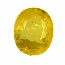 Oval - Cut Eye Clean Ceylon Yellow Sapphire