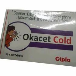Okacet Cold Tablet