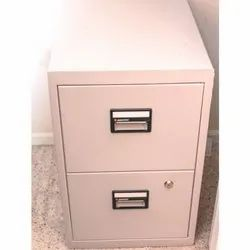 Fire Resisting File Cabinet, No Of Drawers:2.