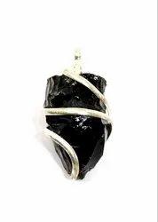 Black obsidian fancy items