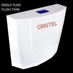 PVC TOP PUSH SLIM FLUSH TANK