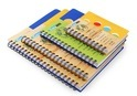 Multi Colour PP Notebook
