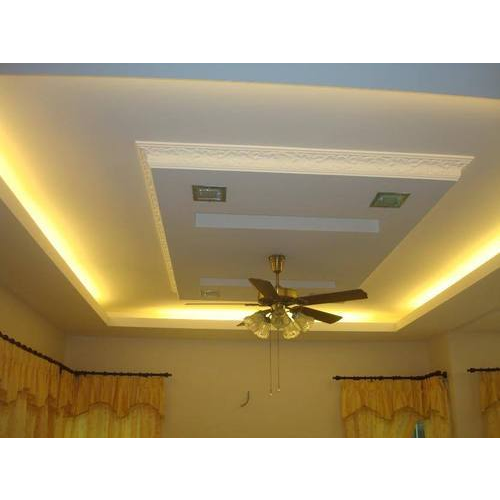 FRP False Ceiling Gypsum Board, Thickness: 7 Mm, Rs 80 /square ...