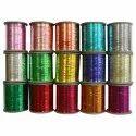 Polyester Metallised Coated m Type Metallic Yarn All Type