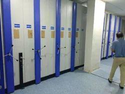 Compactor Storage Rack
