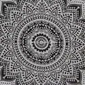 Cotton Blanket Duvet Quilt Cover Ombre Mandala