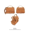 Plain Leather Ladies Handbags