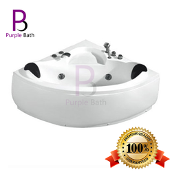 Mavis Jacuzzi Massage Corner Bathtub