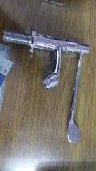 Modern Brass Elbow Action Pillar Cock, Clinical Tap