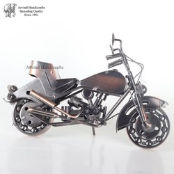 Arvind Handicrafts Color Metal Bike