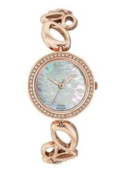 Women White Mother Of Pearl Dial Titan Raga Watch For Woman, For Personal Use, Model Name/Number: 2539wm01