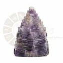 Ur Astro Violet Amethyst Shree Yantra, Size: 2.5 Inch