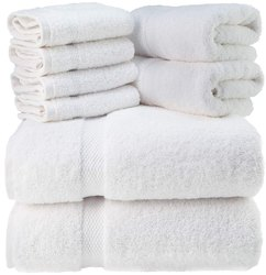 Plain Cotton Bathroom Towel