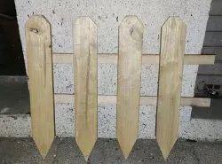 Gardan fence wooden