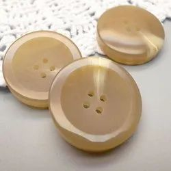 Round Brown Plastic Shirt Button, Packaging Type: Packet