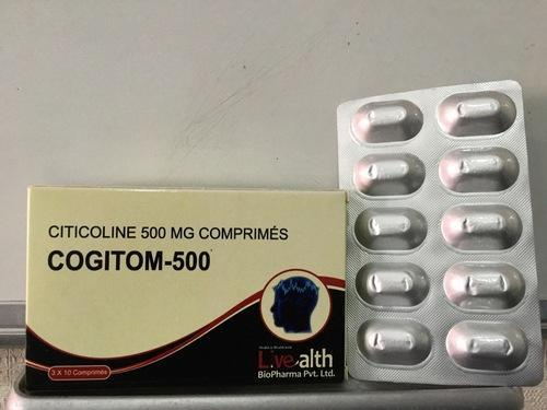 Citicoline 500 Mg Tablets