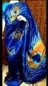 Pure Tussar Silk Hand Painted Sarees