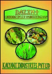 Dazim+ Carbendazim 12% Mancozeb 63% WP, Wettable Powder