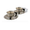 Round Cup & Suacer Two Piece Set, Size: 12 Inch