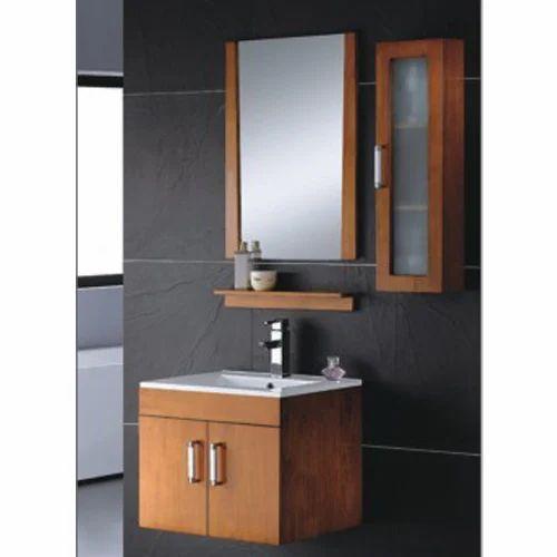 Bathroom Cabinet With Basin Solid Wood, Bathroom Vanity Mirror Cabinet