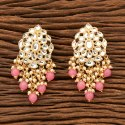 Engagement Indo Western Classic Earring With Gold Plating 100111